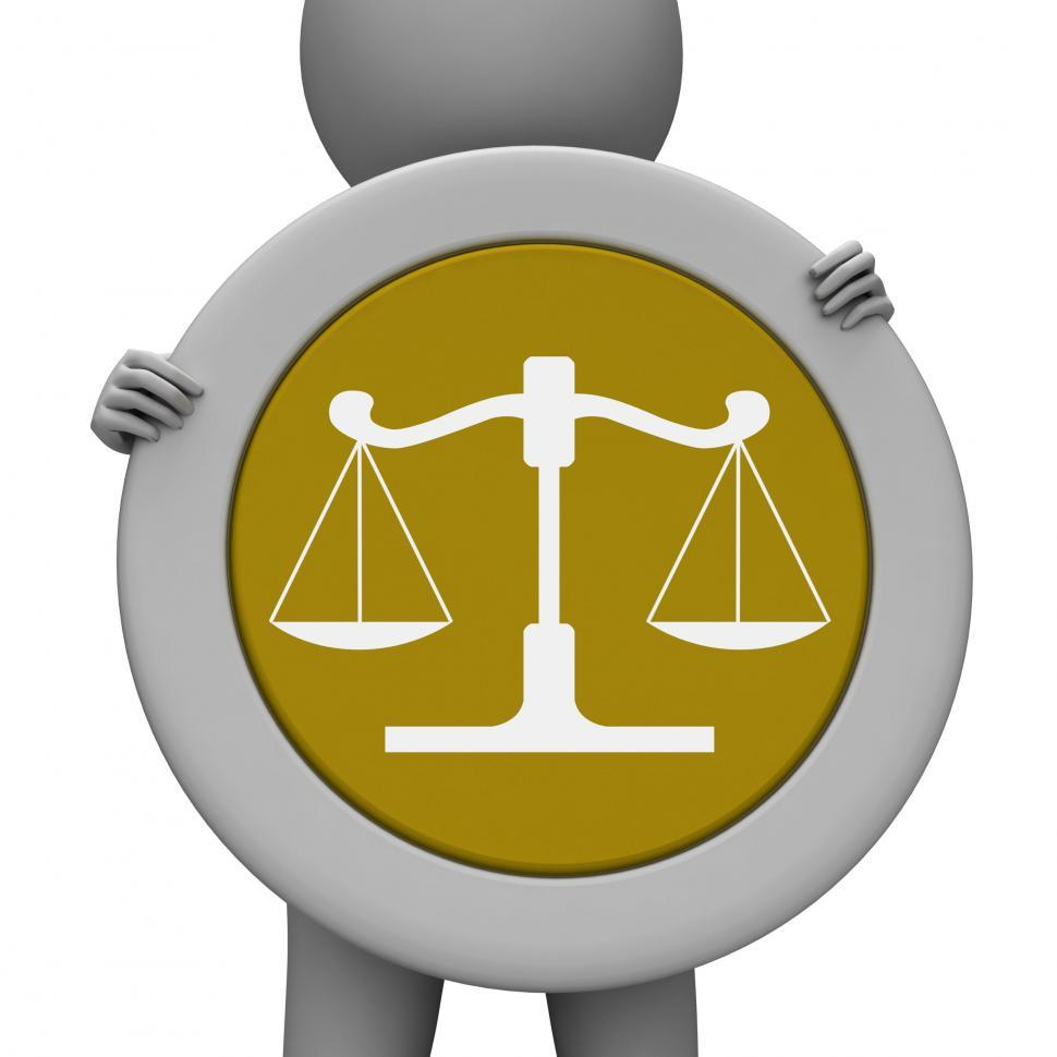 Download Free Stock HD Photo of Balance Scales Means Jury Court And Balanced Online