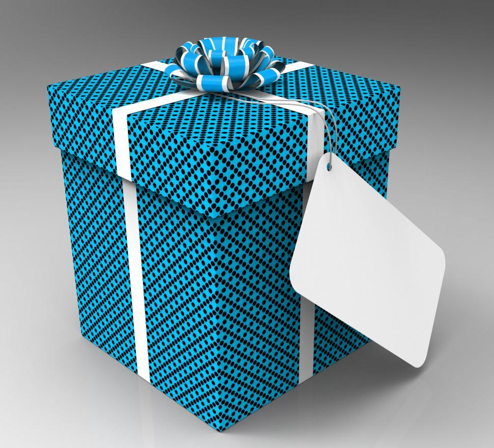 Download Free Stock HD Photo of Gift Tag Means Empty Space And Celebrate Online