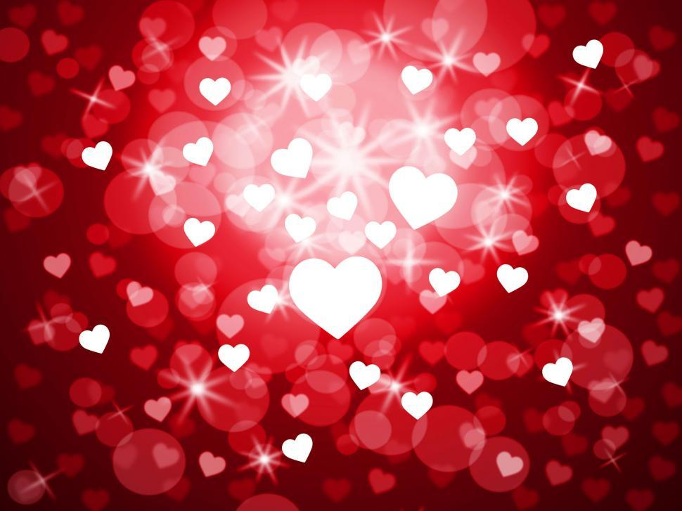 Download Free Stock HD Photo of Background Heart Indicates Valentine Day And Backdrop Online