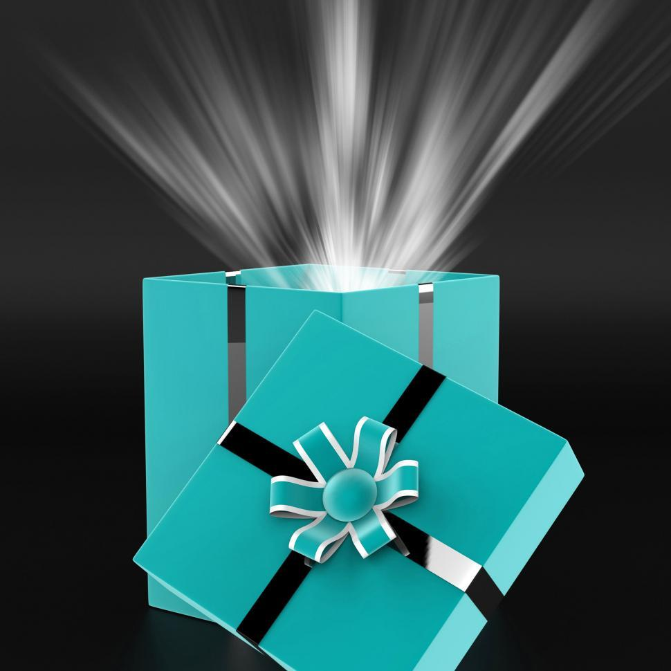 Download Free Stock HD Photo of Surprised Surprise Indicates Gift Box And Wrapped Online