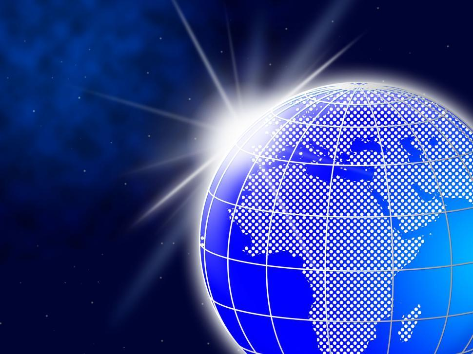 Download Free Stock HD Photo of World Globe Indicates Global Globalization And Worldly Online