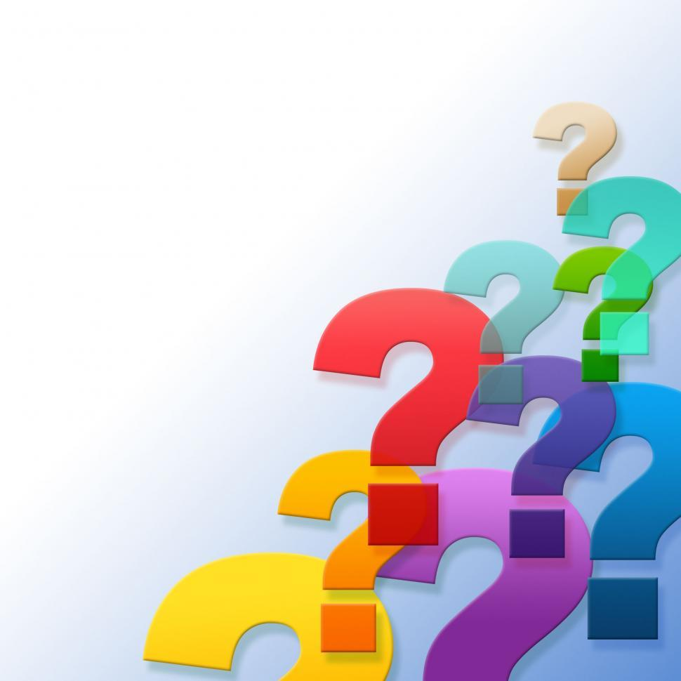 Free Stock Photo of Question Marks Represents Frequently Asked Questions  And Answer | Download Free Images and Free Illustrations