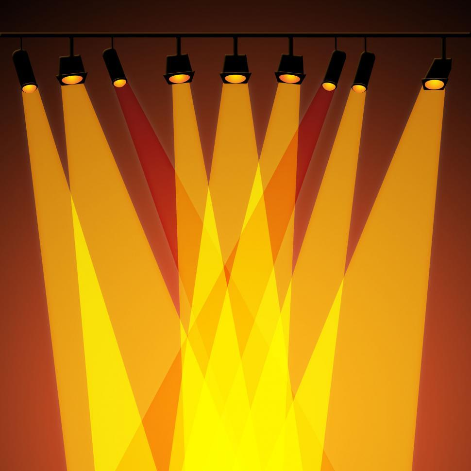 Download Free Stock HD Photo of Background Spotlight Represents Stage Lights And Abstract Online