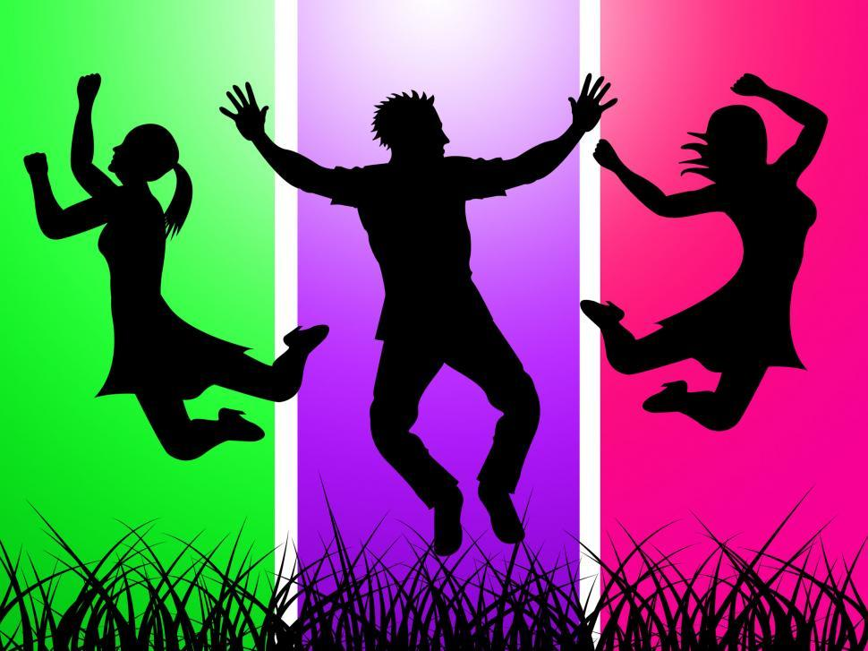 Download Free Stock HD Photo of Excitement Jumping Indicates Green Grass And Excited Online