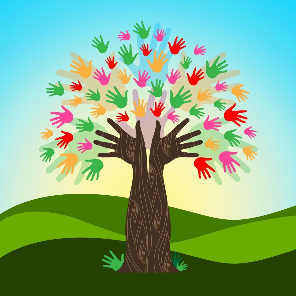 Как нарисовать своими руками дерево