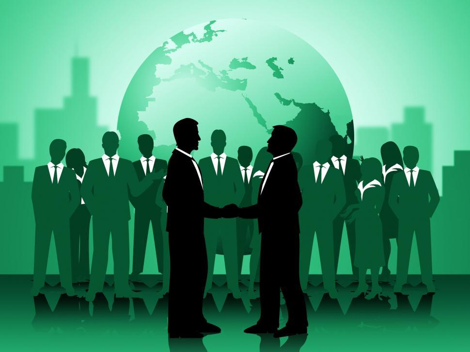 Download Free Stock HD Photo of Globe Partnership Means Working Together And Earth Online