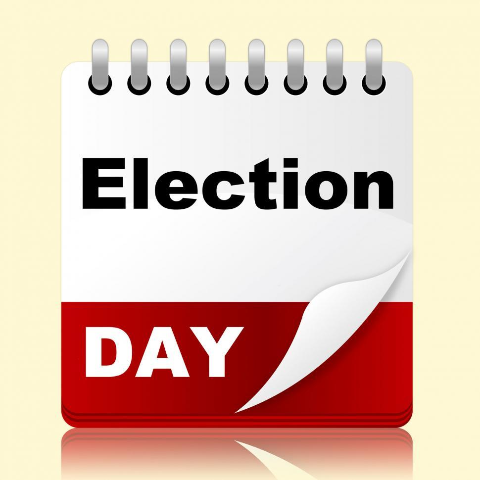 Download Free Stock HD Photo of Election Day Indicates Month Poll And Appointment Online