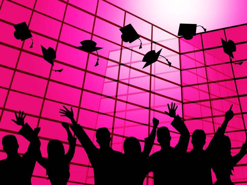 Download Free Stock HD Photo of University School Shows Learn Educated And Educate Online
