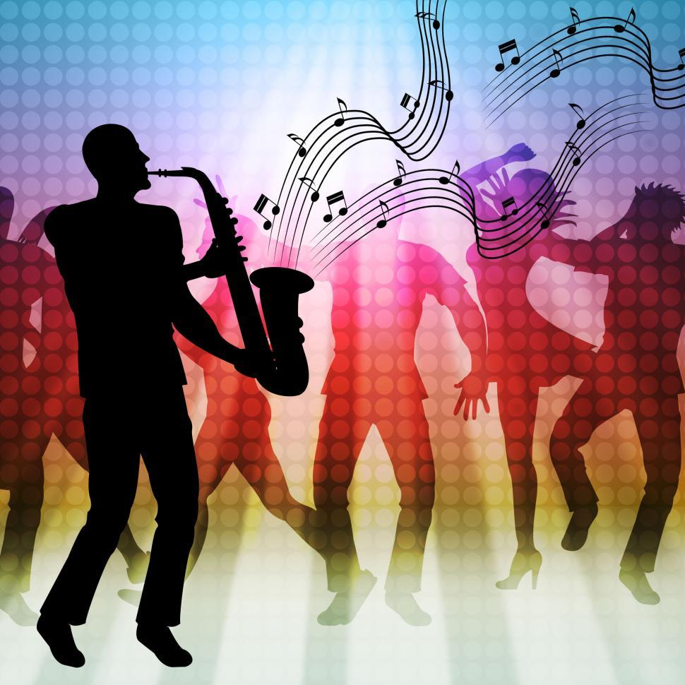 Download Free Stock HD Photo of Dancing Music Represents Sound Track And Acoustic Online