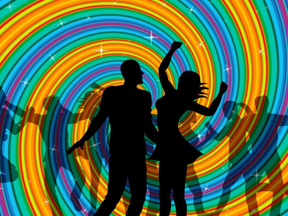 Download Free Stock HD Photo of Disco Dancing Indicates Dancer Music And Discotheque Online