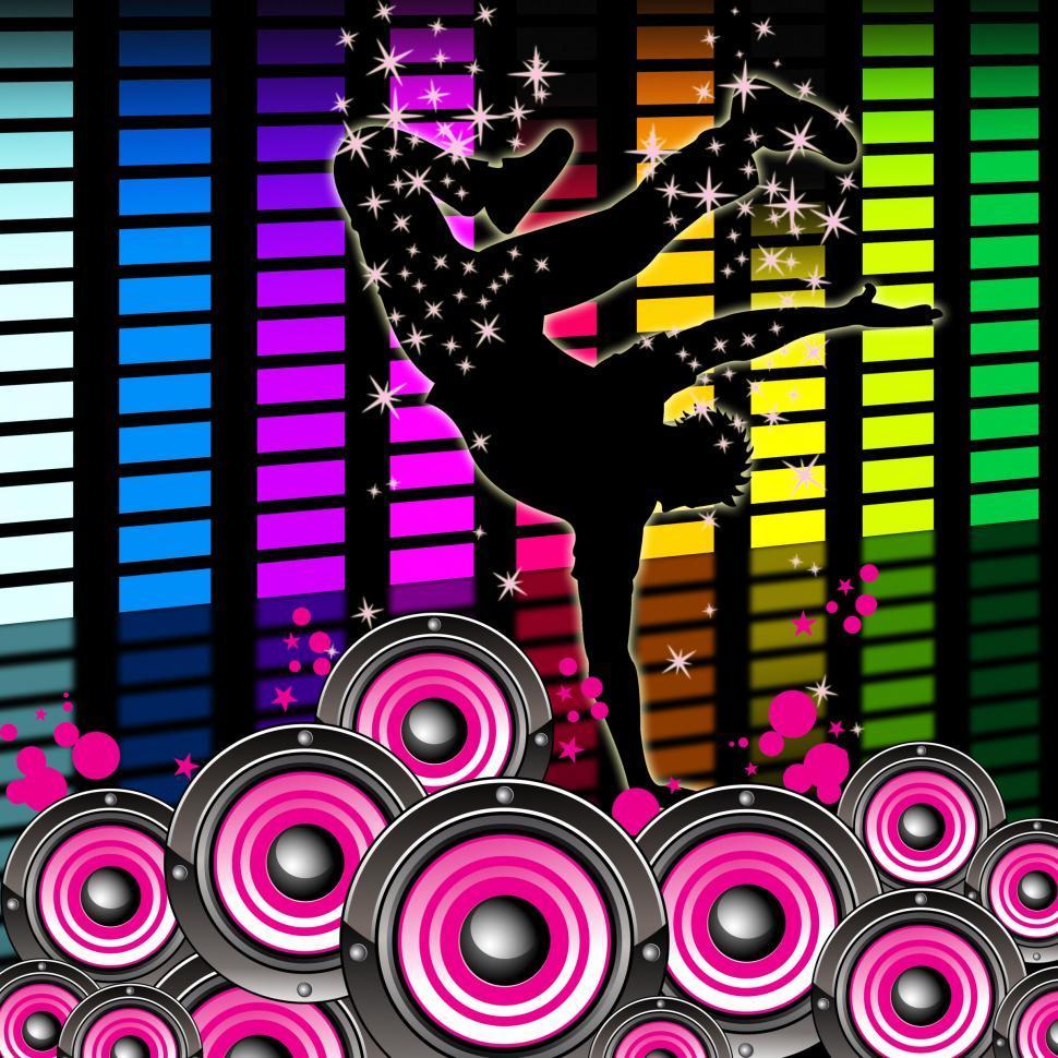 Download Free Stock HD Photo of Break Dancing Indicates Hip Hop And Break-Dance Online