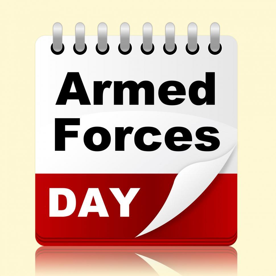 Download Free Stock HD Photo of Armed Forces Day Represents Usa Calendar And Event Online