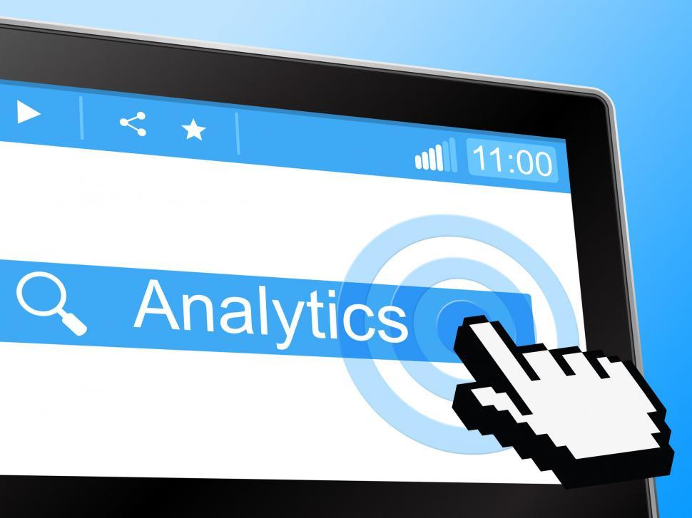 Download Free Stock HD Photo of Analytics Online Represents World Wide Web And Network Online