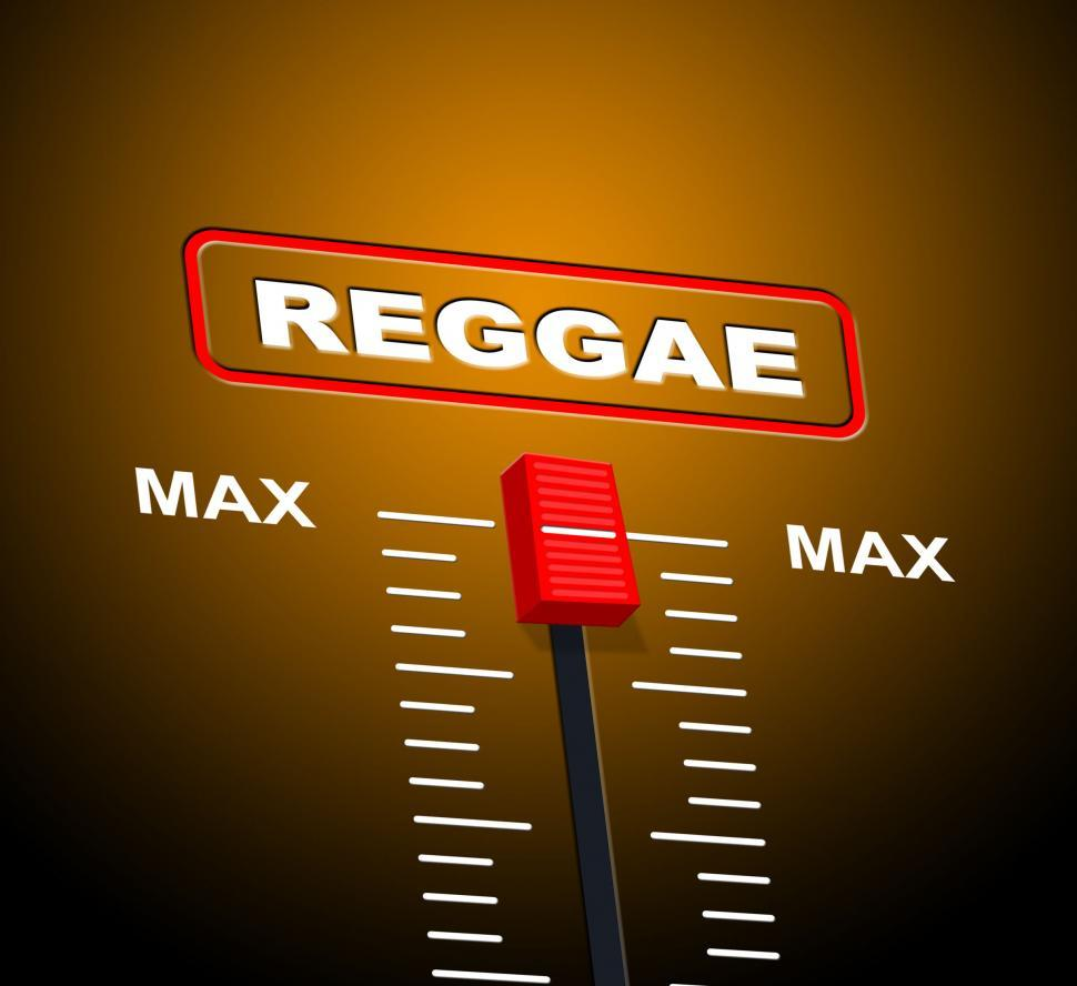 Download Free Stock HD Photo of Reggae Music Indicates Acoustic Recording And Melody Online