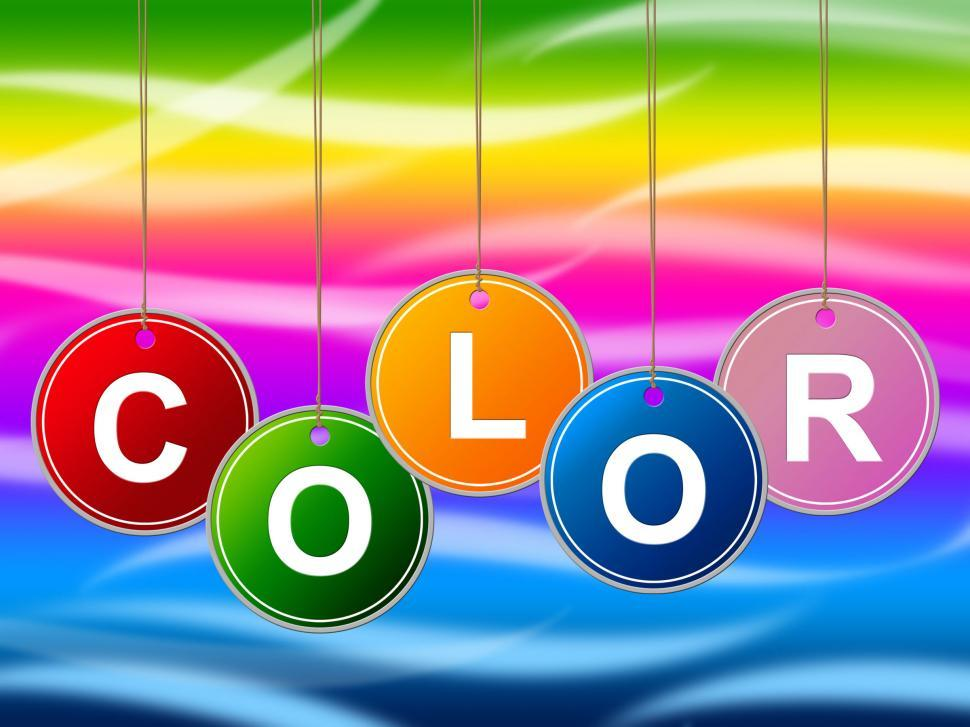 Download Free Stock HD Photo of Paint Colorful Means Colours Multicolored And Multicoloured Online