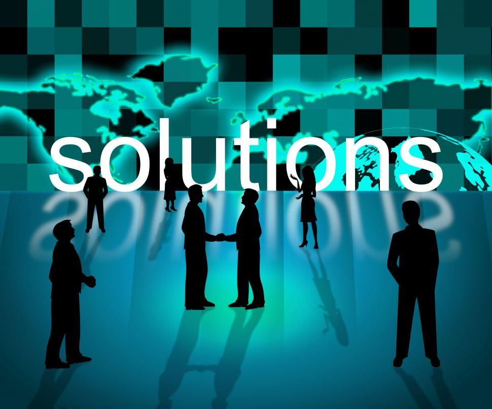 Download Free Stock HD Photo of Solutions Business Means Resolution Trade And Corporation Online