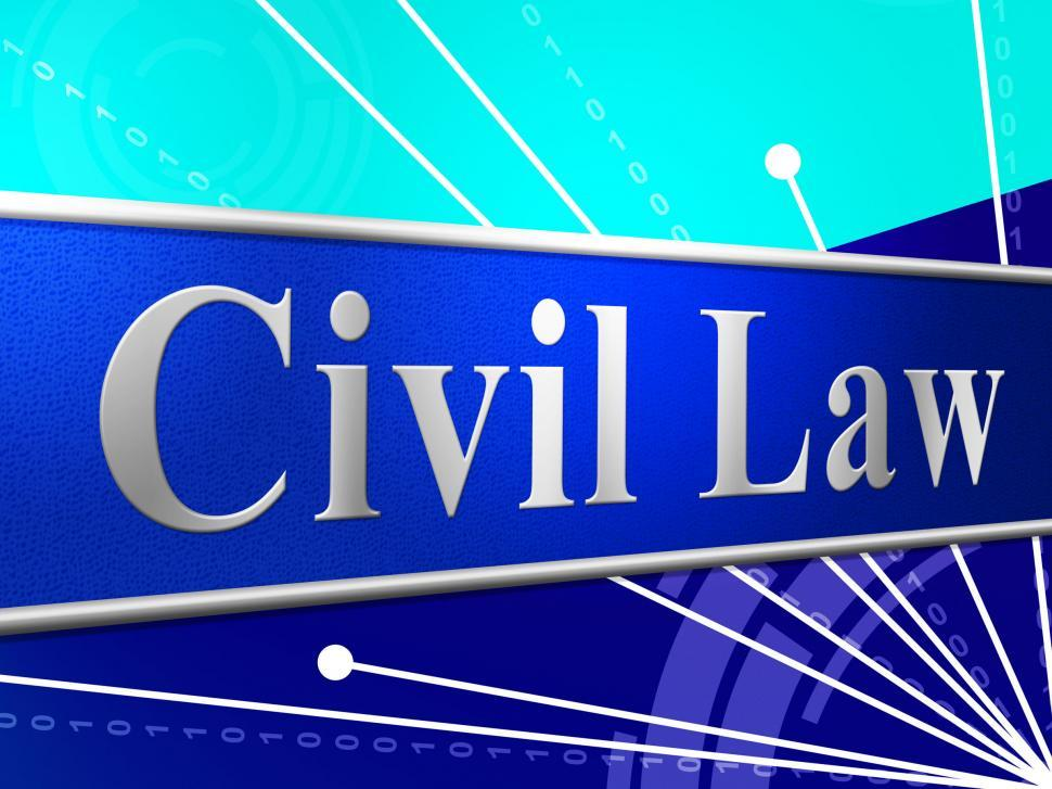 Download Free Stock HD Photo of Civil Law Represents Judgment Legality And Legal Online