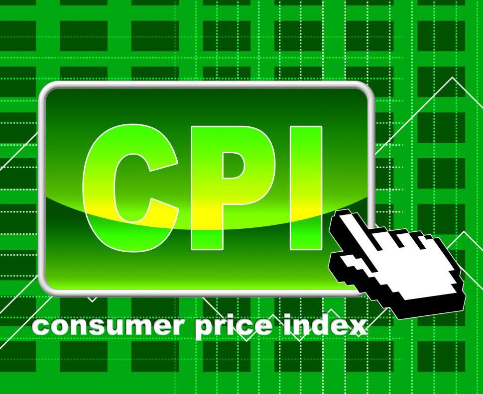 Download Free Stock HD Photo of Consumer Price Index Means World Wide Web And Searching Online