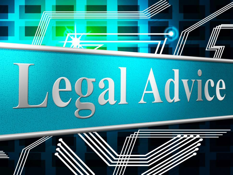 Download Free Stock HD Photo of Legal Advice Represents Knowledge Assistance And Justice Online