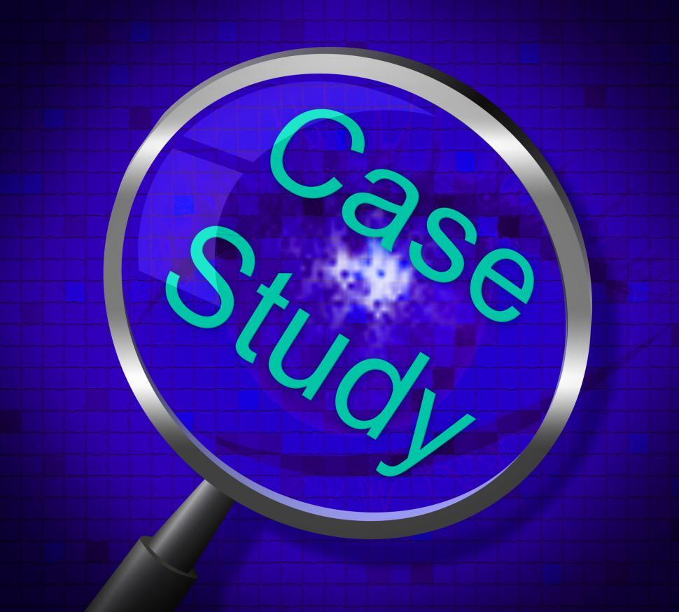 Download Free Stock HD Photo of Case Study Indicates Educating Educated And Education Online