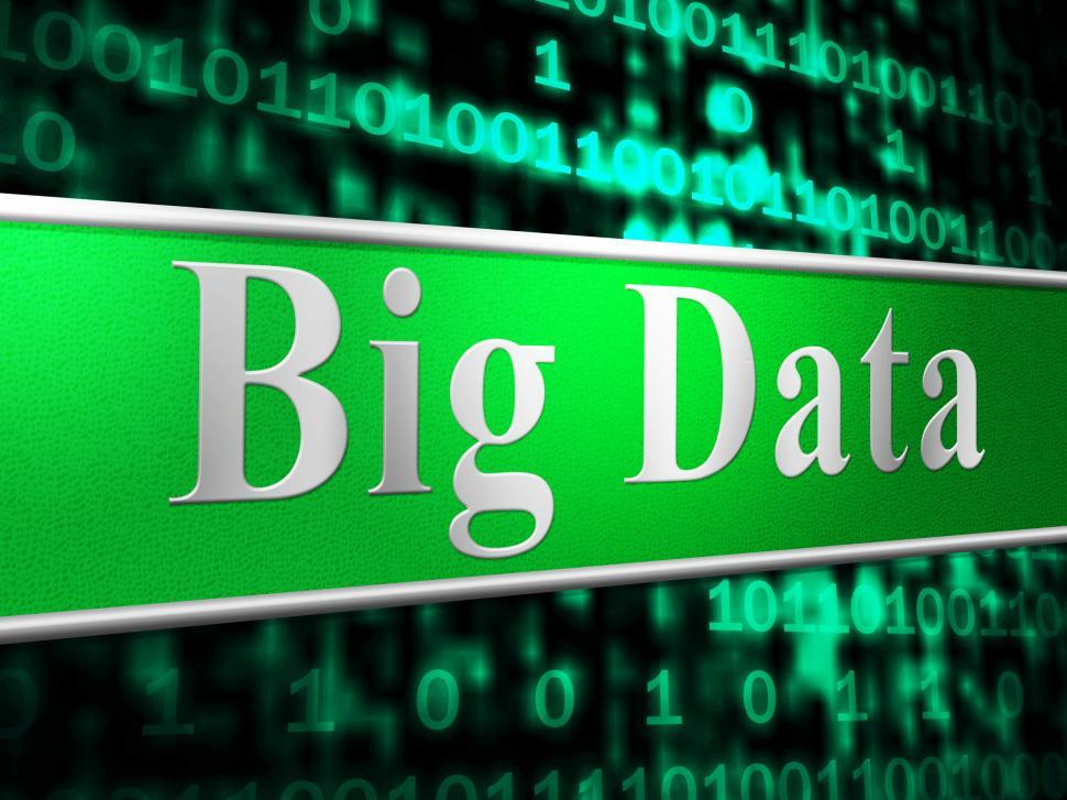 Download Free Stock HD Photo of Big Data Indicates World Wide Web And Information Online