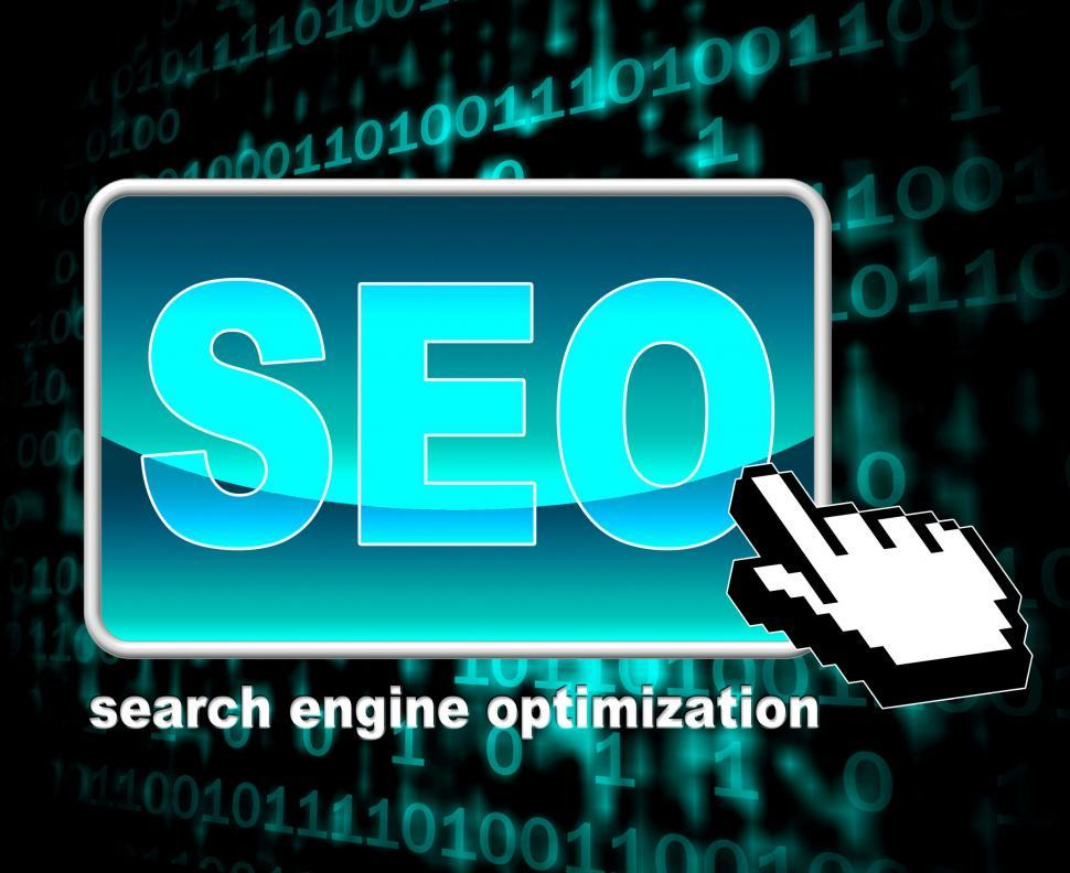 Download Free Stock HD Photo of Online Seo Represents World Wide Web And Optimization Online
