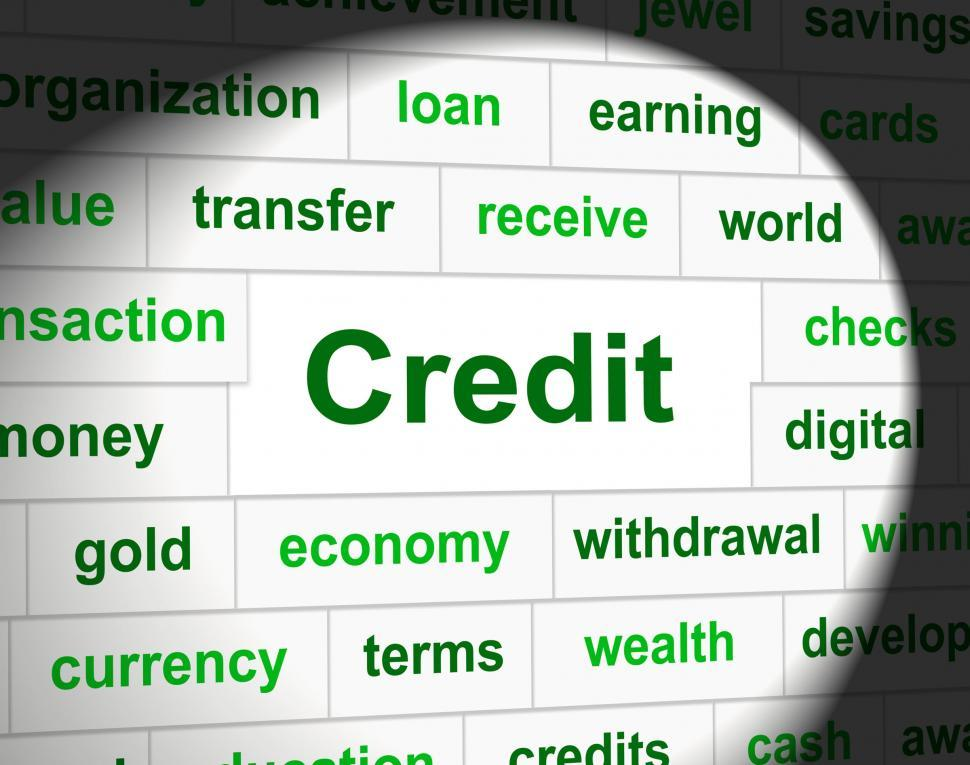 Download Free Stock HD Photo of Credit Debts Represents Debit Card And Cashless Online