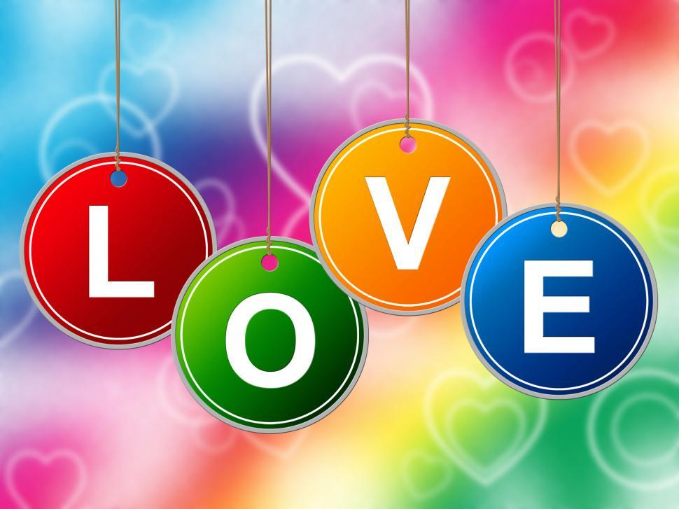 Download Free Stock HD Photo of Heart Love Represents Lovers Romantic And Hearts Online