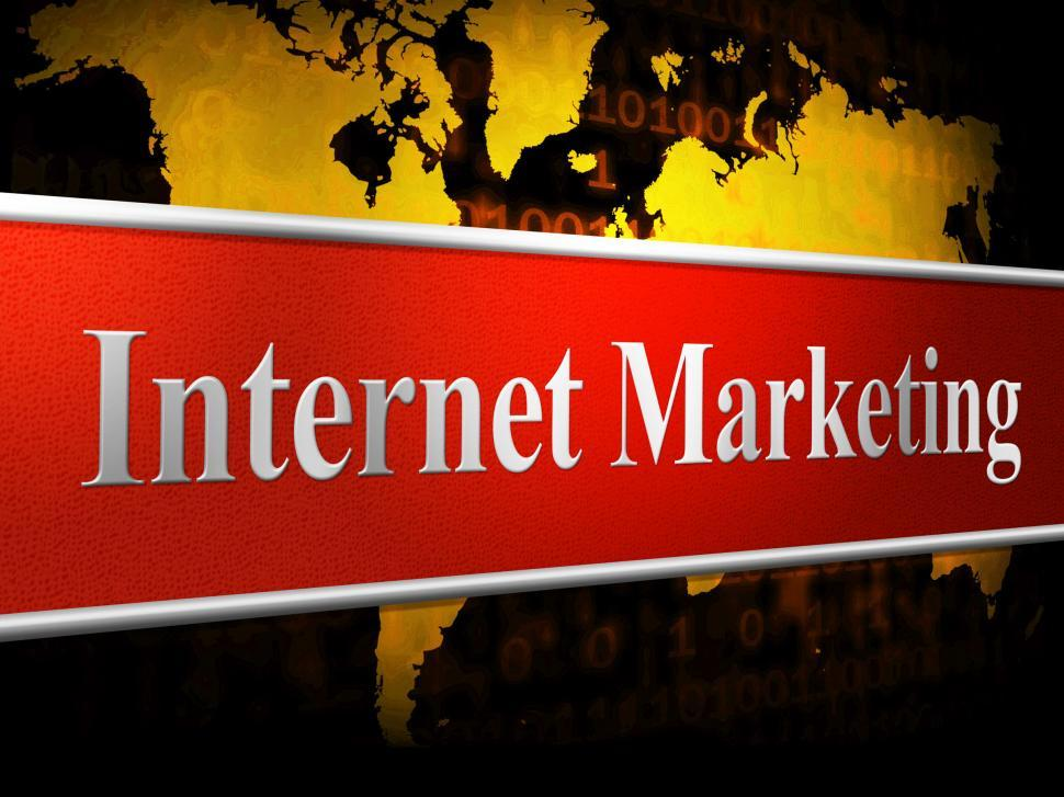 Download Free Stock HD Photo of Marketing Internet Means World Wide Web And Promotions Online
