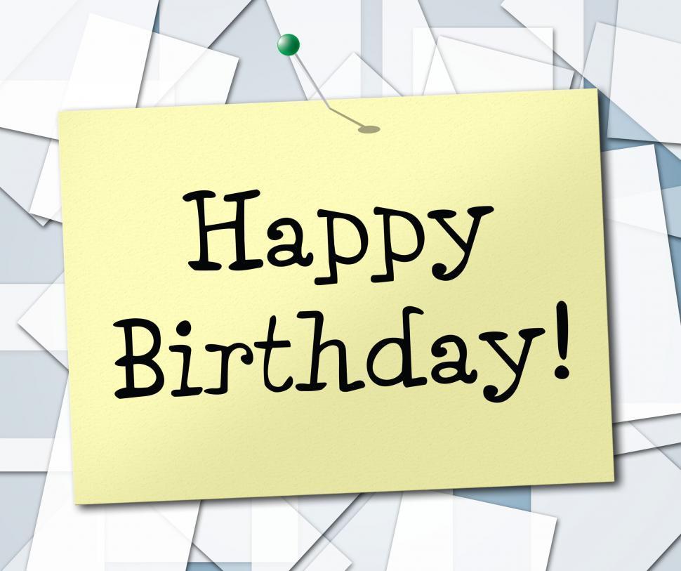 Get Free Stock Photos Of Happy Birthday Represents Greetings