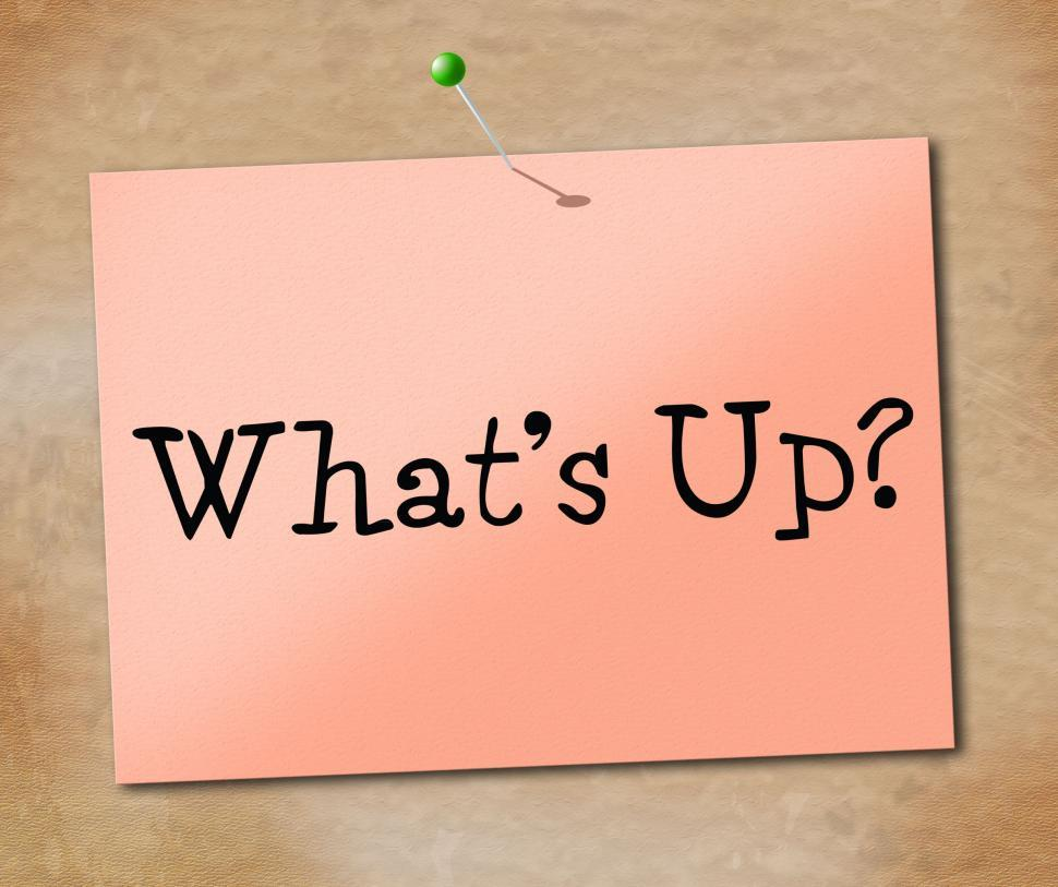 Download Free Stock HD Photo of Whats Up Indicates Tight Spot And Hurdle Online