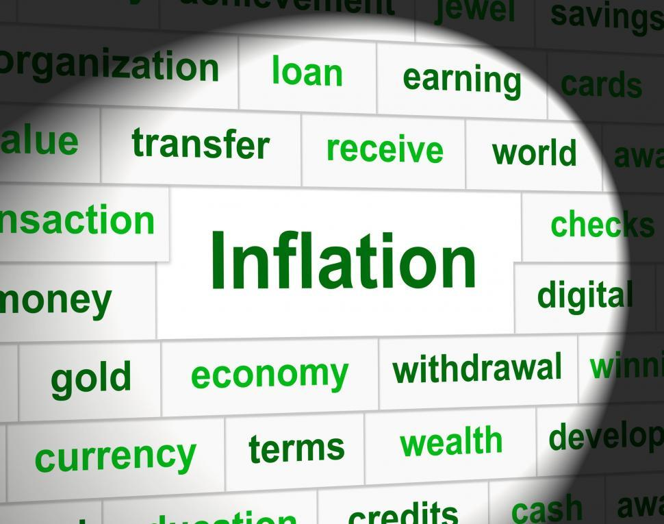 Download Free Stock HD Photo of Finance Inflation Represents Economic Profit And Increase Online