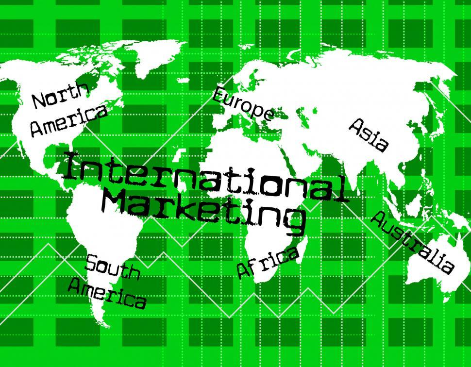 Get Free Stock Photos of International Marketing Indicates
