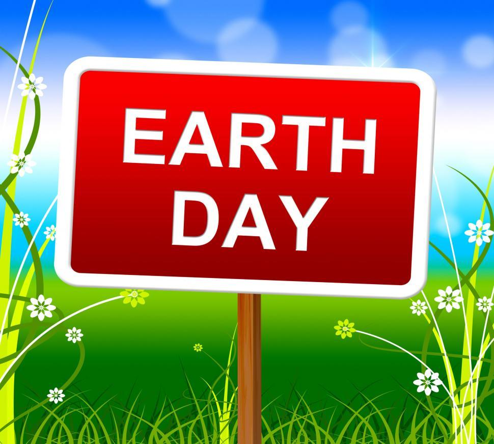 Download Free Stock HD Photo of Earth Day Represents Go Green And Conservation Online