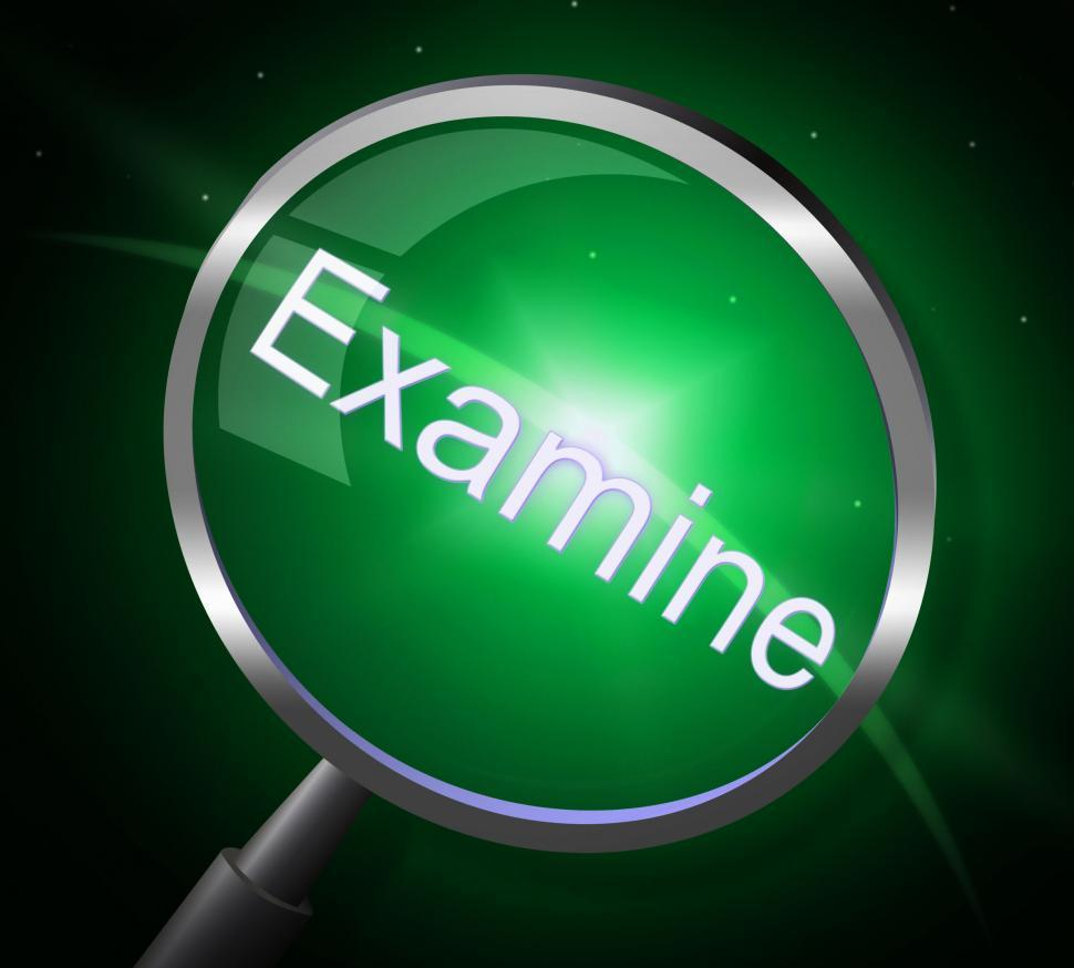 Download Free Stock HD Photo of Magnifier Examine Indicates Check Up And Magnification Online