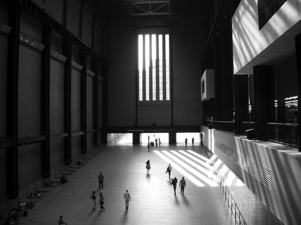 Download Free Stock HD Photo of Tate Britain - Turbine Hall Online
