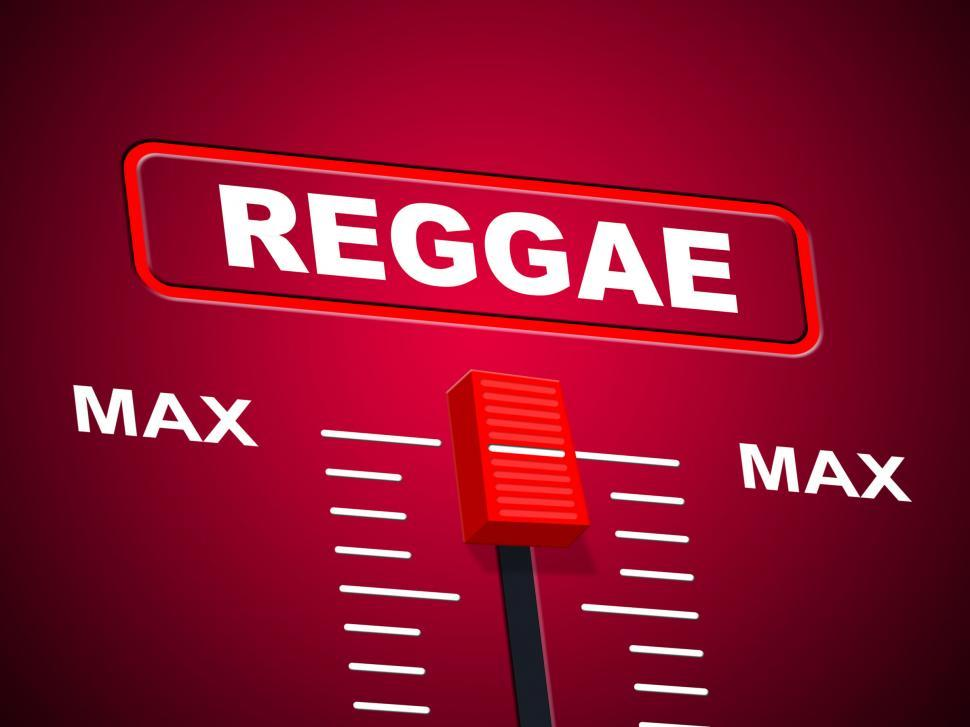 Download Free Stock HD Photo of Reggae Music Represents Sound Track And Ceiling Online