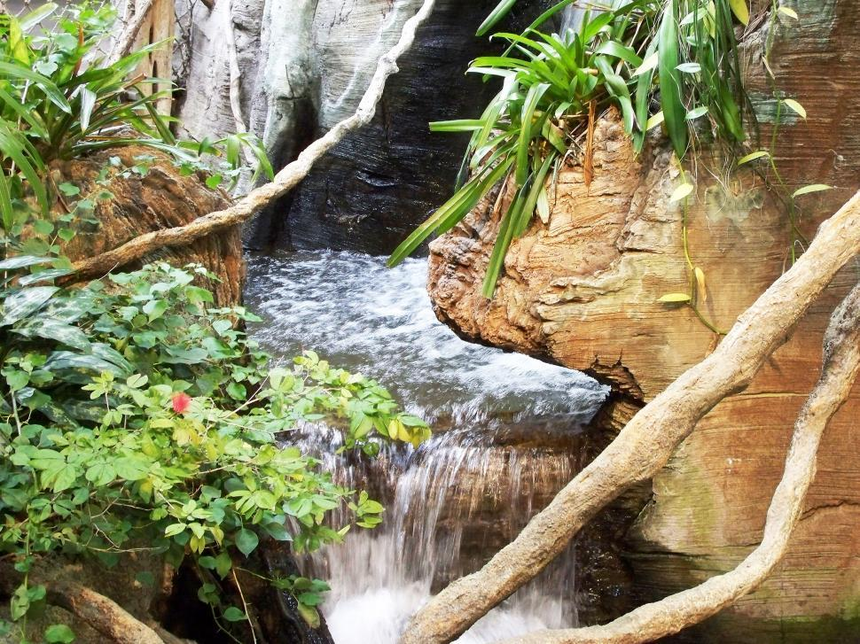 Download Free Stock HD Photo of Tropical Waterfall Online