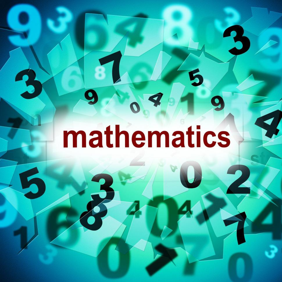 Download Free Stock HD Photo of Mathematics Counting Shows One Two Three And Tutoring Online