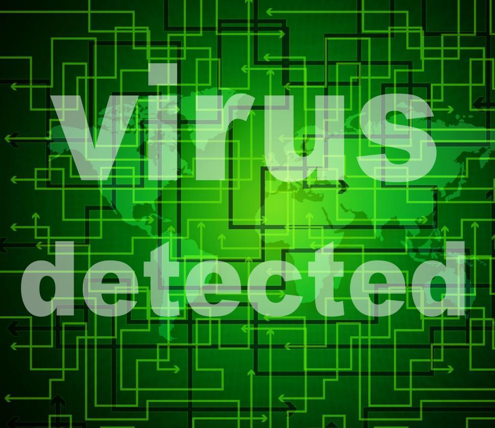 Download Free Stock HD Photo of Virus Detected Means Find Antiviral And Detects Online