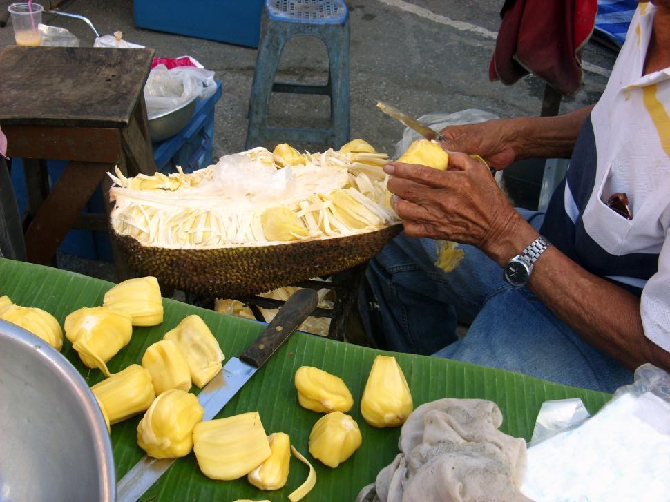 Download Free Stock HD Photo of Jackfruit preparation Online