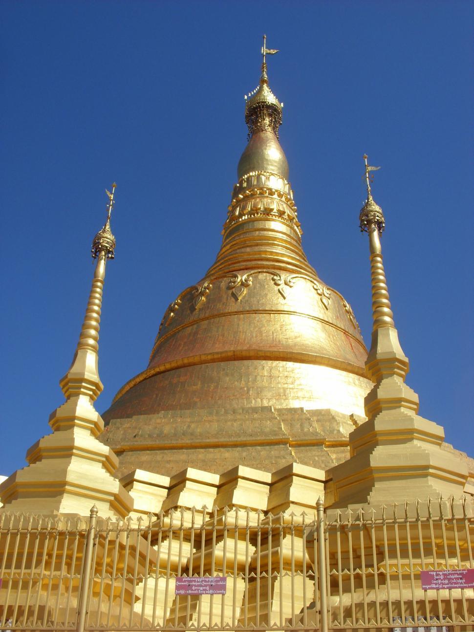 Download Free Stock HD Photo of Burmese pagoda Online