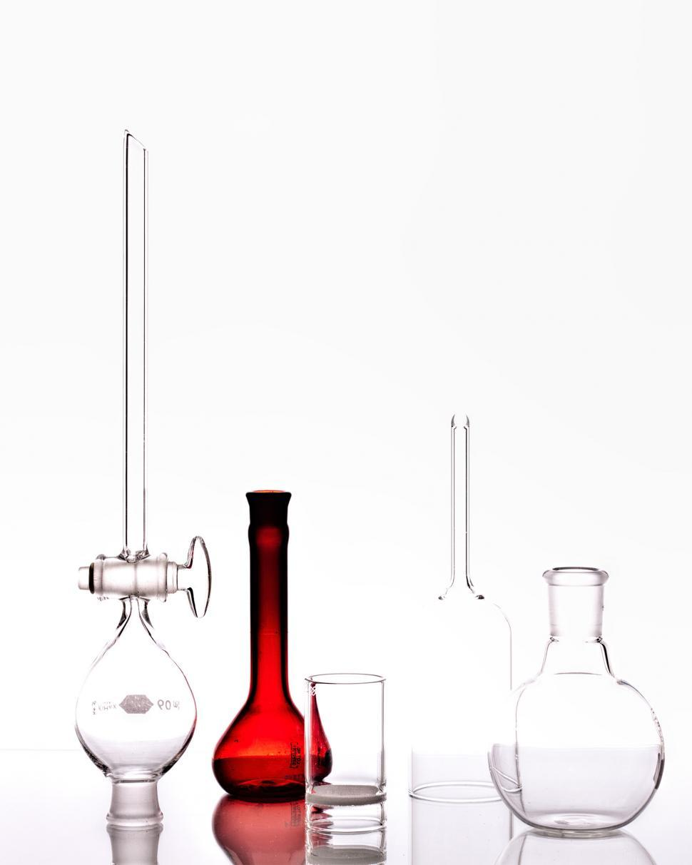 Download Free Stock HD Photo of Chemistry Experimental Glassware Online