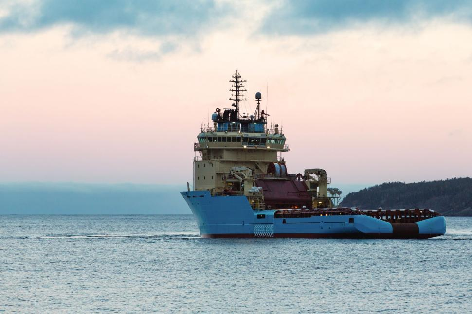 Download Free Stock HD Photo of Supply Vessel Online