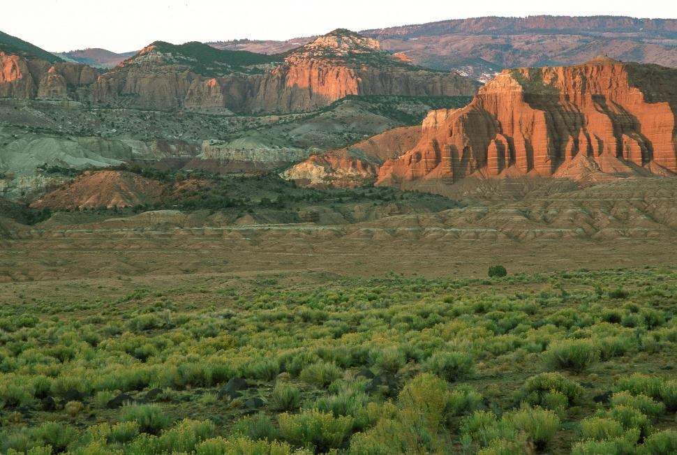 Download Free Stock HD Photo of Sunrise at Capitol Reef National Park Online