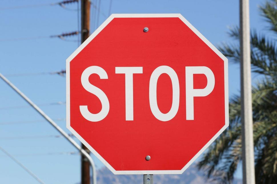Download Free Stock HD Photo of Stop sign Online