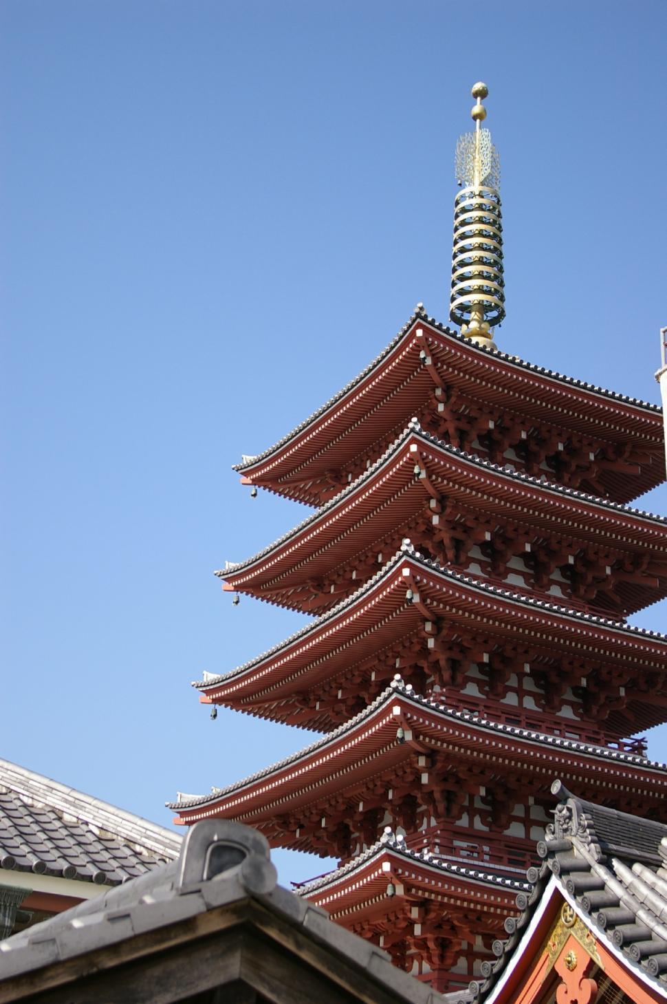 Download Free Stock HD Photo of Nara, Japan Pagoda Online