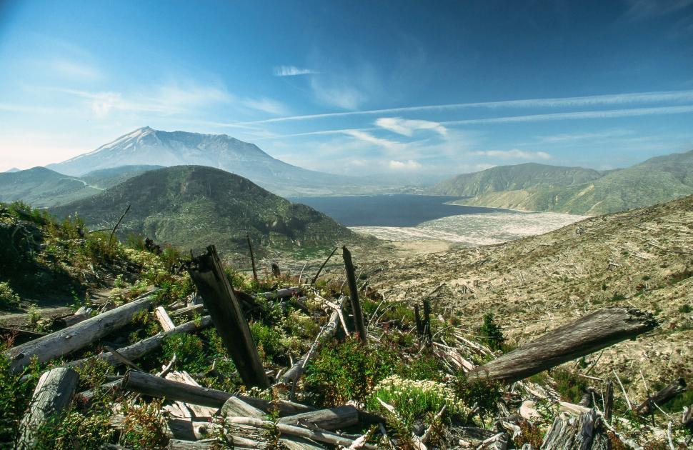 Download Free Stock HD Photo of Mount St. Helens Online