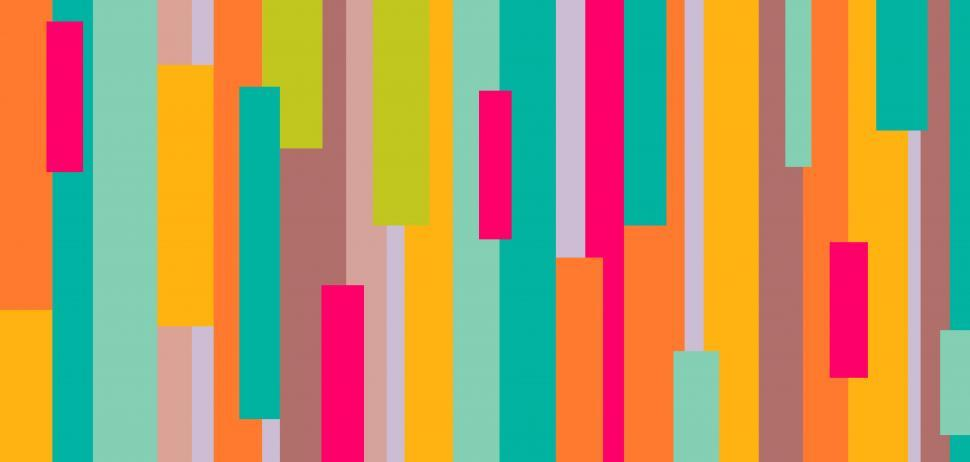 Download Free Stock HD Photo of Colorful abstract rectangular pattern Online