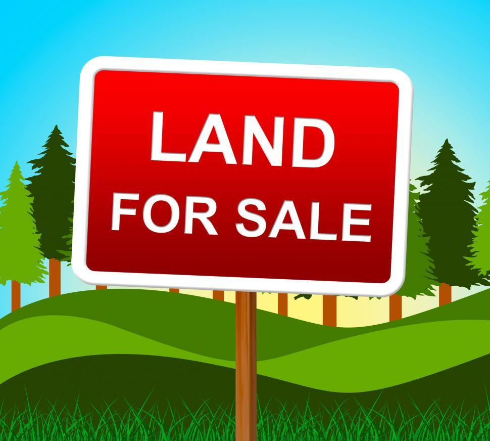 how to sell land online for free